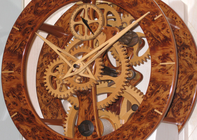 wooden clock making youtube » plansdownload